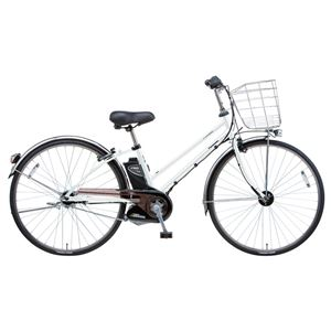 Panasonic(パナソニック) VIVI SX CITY 27インチ アレックスフレーム、強化フレーム 内装5段変速 ホワイトパールクリア 電動補助自転車