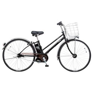 Panasonic(パナソニック) VIVI DX CITY 27インチ アレックスフレーム、強化フレーム 内装5段変速 ピュアブラック 電動補助自転車