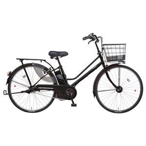 Panasonic(パナソニック) Lala5 26インチ アレックスフレーム 内装3段変速 ピュアマットブラック 電動補助自転車 - 拡大画像