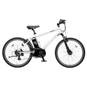 Panasonic(パナソニック) Hurryer 26インチ アルミフレーム 7段変速 クリスタルホワイト 電動補助自転車