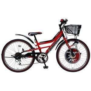 2013年モデル BorderOne(ボーダーワン) AMERICAN EAGLE DX 22インチ 6段変速 Red 6〜11歳 子供用自転車 - 拡大画像