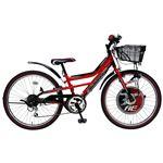 2013年モデル BorderOne(ボーダーワン) AMERICAN EAGLE DX 22インチ 6段変速 Red 6〜11歳 子供用自転車