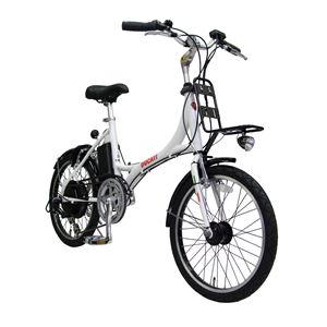 【送料無料】 2013モデル DUCATI(ドゥカティ) 自転車本体/電動自転車 20インチ WHITE