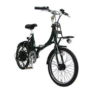 【送料無料】 2013モデル DUCATI(ドゥカティ) 自転車本体/電動自転車 20インチ GREEN