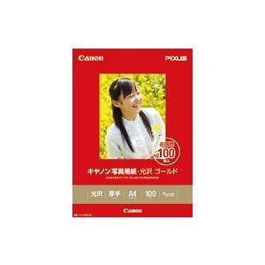 キヤノン キヤノン写真用紙・光沢 ゴールド A4 100枚 GL-101A4100 2310B014
