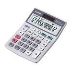 カシオ計算機(CASIO) ミニジャスト型電卓 12桁 MW-12GT-N