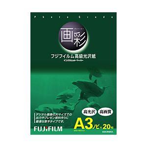 富士フィルム(FUJI)インクジェットペーパー画彩写真仕上げ高級光沢紙A3ノビ20枚G3A3N20A