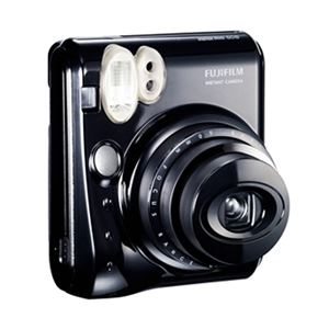富士フイルム インスタントカメラ instax mini 50S チェキ (ピアノブラック) INS MINI 50S BL - 拡大画像