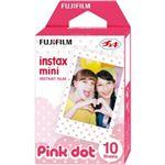 富士フイルム チェキ用カラーフィルム instax mini ピンクドット 1パック品(10枚入) INSTAX MINI PINK-DOT WW 1