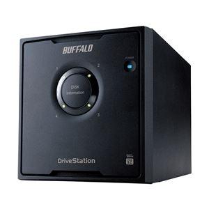 バッファロー ドライブステーション RAID5対応 USB3.0用 外付けHDD 4ドライブ 4TB HD-QL4TU3/R5J h01