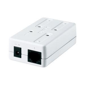 100/10M モバイル・コンパクト 3ポートスイッチングHub ホワイト - 拡大画像