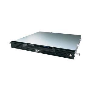 バッファロー 管理者・フェイルオーバー・RAID6機能搭載 4ドライブNAS ラックマウントモデル 4TB TS-RVH4.0TL/R6 - 拡大画像