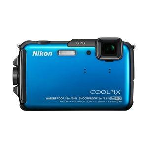 ニコン デジタルカメラ COOLPIX AW110 マリンブルー COOLPIXAW110BL - 拡大画像