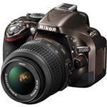 ニコン デジタル一眼レフカメラ D5200 18-55 VR レンズキット ブロンズ D5200LKBZ