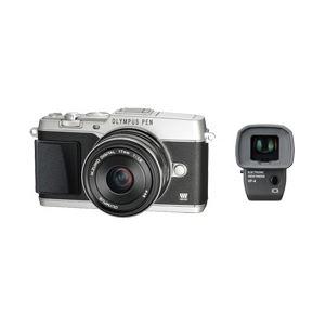 マイクロ一眼 OLYMPUS PEN E-P5 17mm F1.8レンズキット (シルバー) - 拡大画像