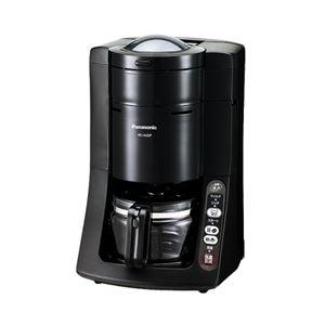 パナソニック コーヒーメーカーブラック(NCA55PK) NC-A55P-K - 拡大画像