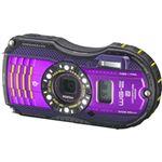 ペンタックス 防水デジタルカメラ WG-3 GPS (パープル) WG-3GPSPU