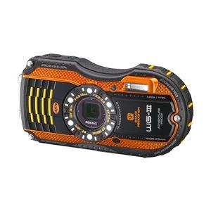 ペンタックス 防水デジタルカメラ WG-3 (オレンジ) WG-3OR - 拡大画像