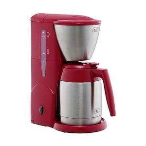 メリタジャパン バイメタル式ステンレス保温ポット使用コーヒーメーカー 5カップ レッド JCM-561(R) - 拡大画像