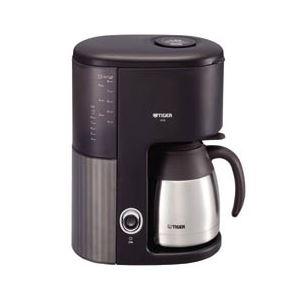 タイガー魔法瓶 コーヒーメーカー 真空ステンレスサーバータイプ カフェブラック ACW-S080KQ - 拡大画像
