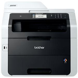 ブラザー工業(BROTHER) A4カラーレーザー(LED)複合機22PPM/FAX/ADF/有線・無線LAN/両面印刷 MFC-9340CDW-3