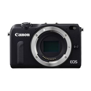 キヤノン ミラーレスカメラ EOS M2・ボディー (ブラック) 8830B001 - 拡大画像