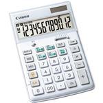 キヤノン スリム卓上サイズ電卓 HS-1200WT 9090B001