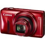 キヤノン デジタルカメラ PowerShot SX600 HS (レッド) 9342B004