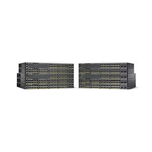 Cisco Systems 【保守購入必須】Catalyst 2960-X 24 GigE PoE 370W 4 x 1GSFP LAN Base WS-C2960X-24PS-L h01