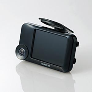 【車載用防犯カメラ】ELECOM(エレコム) HD対応ドライブレコーダー/常時録画型/液晶ディスプレイ搭載/法人向けモデル LVR-SD120H/P - 拡大画像