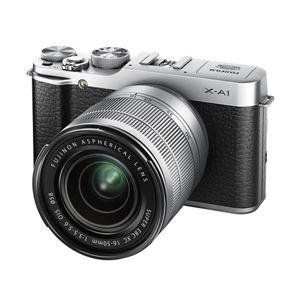 富士フイルム レンズ交換式プレミアムカメラ X-A1 <ズームレンズキット>:シルバー X-A1S/1650KIT - 拡大画像