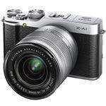 富士フイルム レンズ交換式プレミアムカメラ X-A1 <ズームレンズキット>:シルバー X-A1S/1650KIT
