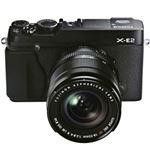 富士フイルム レンズ交換式プレミアムカメラ X-E2 <ズームレンズキット>:ブラック X-E2B/1855KIT