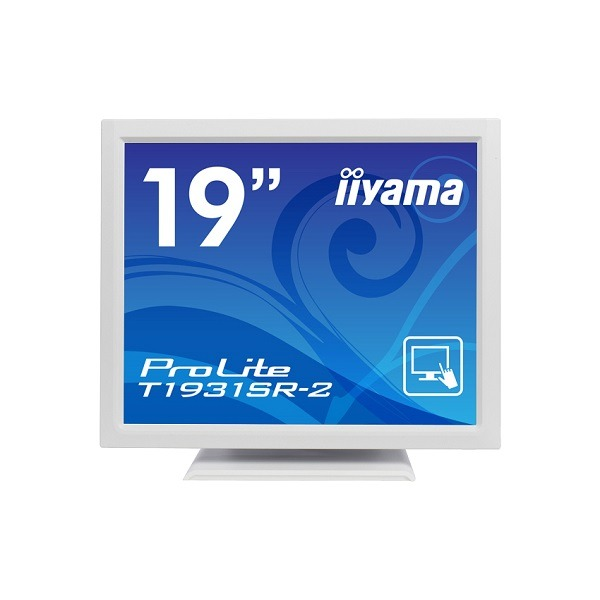 iiyama 19型液晶ディスプレイ ProLiteT1931SR-W2(抵抗膜方式タッチパネル、ホワイト) PLT1931SR-W2f00