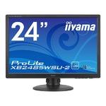 iiyama 24.1型ワイド液晶ディスプレイ ProLiteXB2485WSU-2(LED、IPS、WUXGA解像度) XB2485WSU-B2