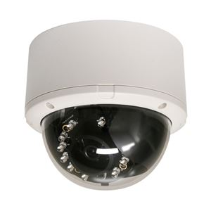 コレガ PoE・暗視対応 ドーム型 HD有線ネットワークカメラ CG-NC034A - 拡大画像