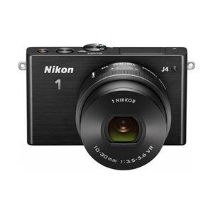 ニコン レンズ交換式アドバンストカメラ Nikon 1 J4 標準パワーズームレンズキット ブラック N1J4HPLKBK - 拡大画像