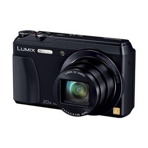 パナソニック(家電) デジタルカメラ LUMIX TZ55 (ブラック) DMC-TZ55-K - 拡大画像