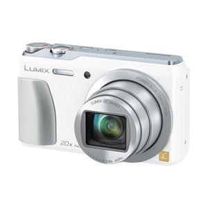 パナソニック(家電) デジタルカメラ LUMIX TZ55 (ホワイト) DMC-TZ55-W - 拡大画像