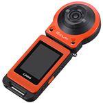 カシオ計算機 デジタルカメラ FREE STYLE EXILIM EX-FR10 オレンジ EX-FR10EO