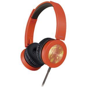 パナソニック(家電) ステレオヘッドホン (オレンジ) RP-HXS400-D - 拡大画像