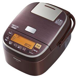 パナソニック(家電) 可変圧力IHジャー炊飯器 1.8L (ブラウン) SR-PA184-T - 拡大画像
