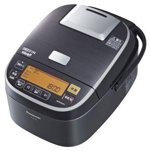 パナソニック(家電) 可変圧力IHジャー炊飯器 1.0L (ステンレスブラック) SR-PX104-K - 拡大画像