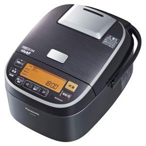 パナソニック(家電) 可変圧力IHジャー炊飯器 1.8L (ステンレスブラック) SR-PX184-K - 拡大画像