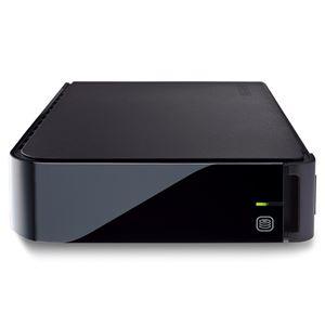 バッファロー BS4倍・地デジ3倍録画対応 テレビ用ハードディスク 大容量外付けタイプ 2TB HDX-LS2.0TU2/VC - 拡大画像