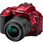 ニコン デジタル一眼レフカメラ D5500 18-55 VR II レンズキット レッド D5500LK18-55RD