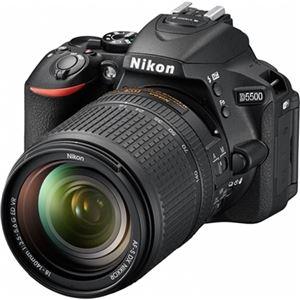 ニコン デジタル一眼レフカメラ D5500 18-140 VR レンズキット ブラック D5500LK18-140BK - 拡大画像