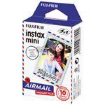 富士フイルム チェキ用カラーフィルム instax mini 絵柄(エアメール) 10枚入 INSTAX MINI AIRMAIL WW 1