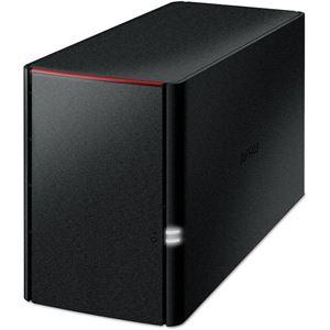 バッファロー リンクステーション RAID機能搭載 ネットワーク対応HDD 4TB LS220D0402C - 拡大画像