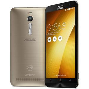 ASUS TeK ZenFone 2 32GB (Atom Z3560/2GBメモリ/LTE対応) ゴールド ZE551ML-GD32 - 拡大画像